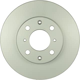 Bosch 26010734 QuietCast Premium Disc Brake Rotor For Honda: 1990-2000 Civic, 1993-1997 Civic del Sol, 1990-1991 CRX; Front