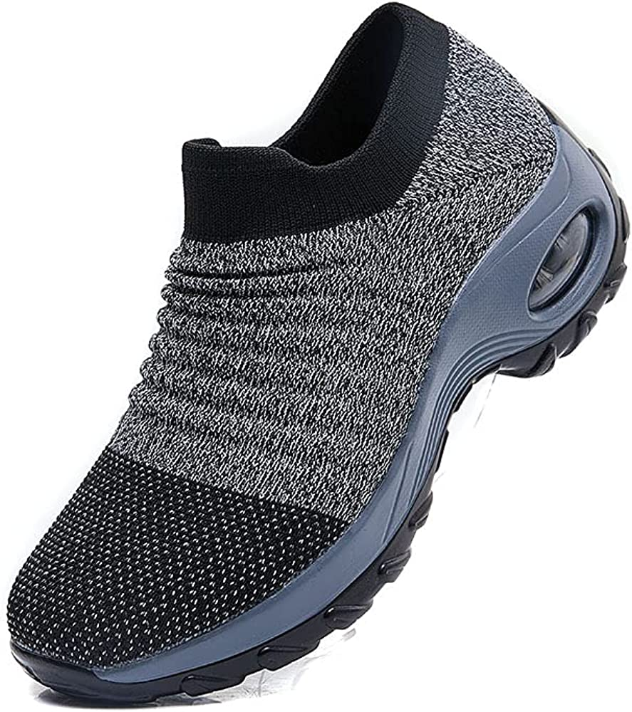 IFSONG Women Slip on Walking Shoes Upper Sneakers Knitted Virginia Beach Mall We OFFer at cheap prices C Sock