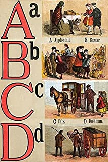 Illustrated Letters from London Alphabet Poster Print by Edmund Evans (18 x 24)