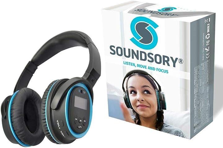Stimolazione multisensoriale basata sulla casa soundsory headset B07KZCM7PX