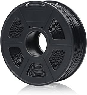 ANYCUBIC 3D Printer Filament PLA-1KG1.75, Dimensional Accuracy +/- 0.02 mm, 1 kg Spool, 1.75 mm, Black