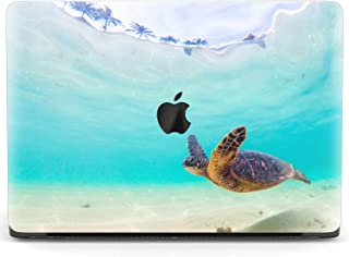 Crystal Sea Turtle Laptop Case Dust-Proof Laptop Case Cover Durable Fully Protect Computer Plastic Case Hard Shell Cover Laptop Sleeve Case for air13