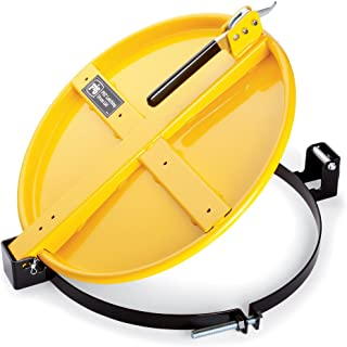 New Pig Latching Drum Lid, For 20 & 30 Gal Steel Drums, Bolt-Ring, 22