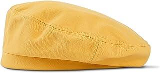 ピュアカラー薄片ベレー帽、女性のアヒルの舌ベレー帽、文学ペインターハット,2