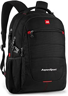 ASPENSPORT Laptop Backpack Multi Conpartment School Bag for 16Inch Computer