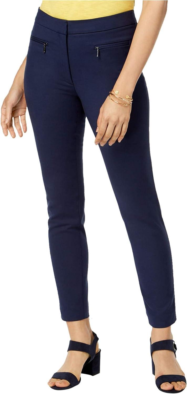 Maison Jules Womens Ankle Chino Skinny Pants