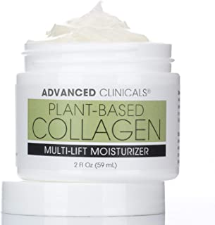 Multi-Lift Plumping Collagen Cream – Facial Moisturizer Firms & Smooths Fine Lines, Sagging Skin – Anti Wrinkle Cream with...