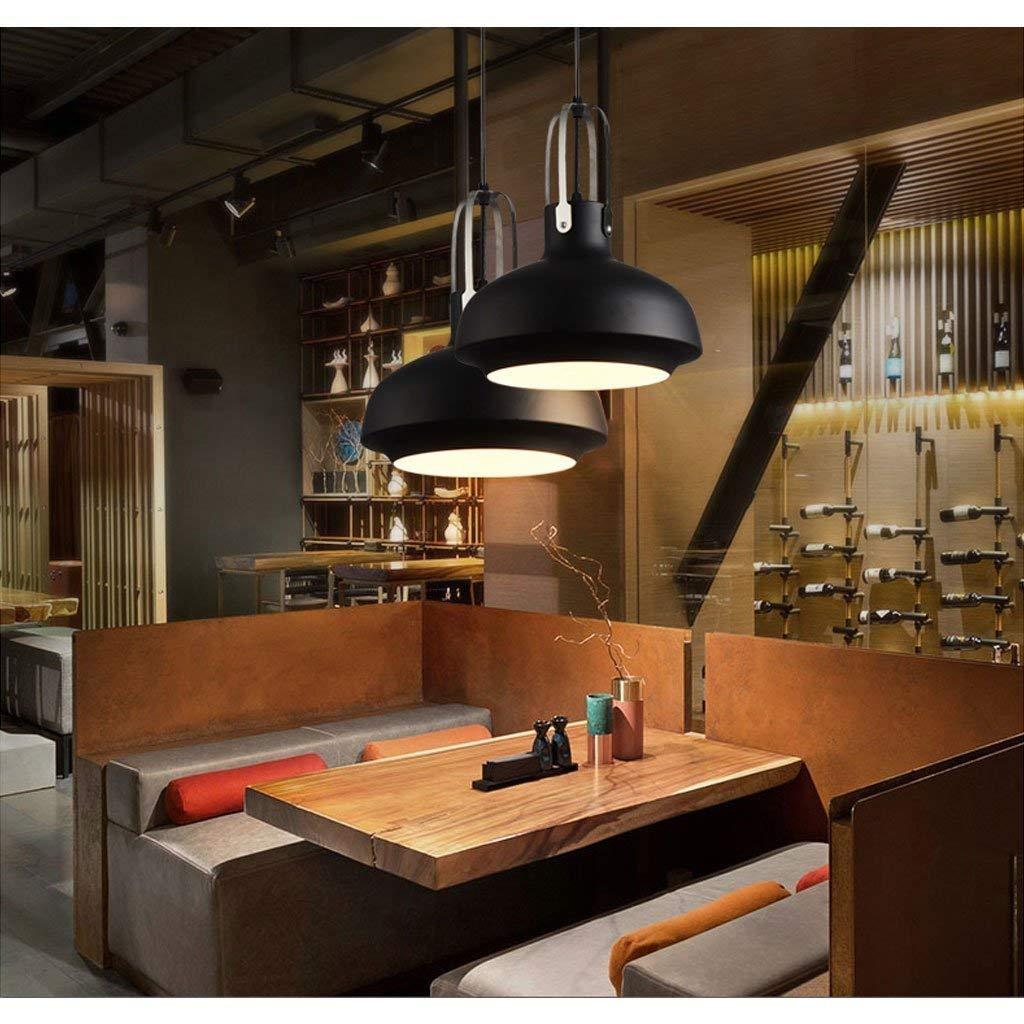 LQQ Gyy Home Hotel Lighting Exquisitos Arañas Personalizadas Estilo Industrial Loft Retro Araña Restaurante Creativo Bar Cabeza Única Hierro Arte Lámpara de Luz de Techo E27: Amazon.es: Deportes y aire libre