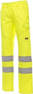 CHEMAGLIETTE Pantaloni da Lavoro con Porta Ginocchiere Alta visibilit/à Payper Charter Tech