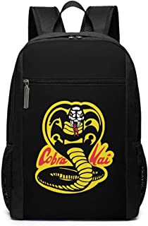Mochila Mochila de Viaje Cobra Kai Backpack Laptop Backpack School Bag Travel Backpack 17 Inch