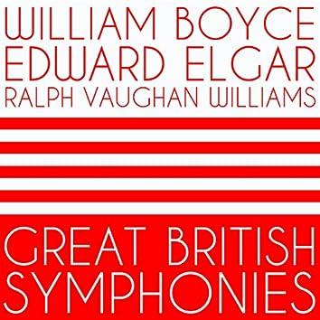 William Boyce, Edward Elgar, Ralph Vaughan Williams: Great British Symphonies