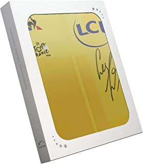 Geraint Thomas Signed Tour De France 2018 Yellow Jersey In Gift Box | Autographed Jersey