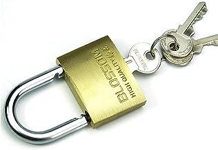 WXYZ Keyed Padlocks Huishoudelijke sleutelhangslot, waterdicht en roestbestendig beveiliging Anti-diefstal slot, gebruikt ...