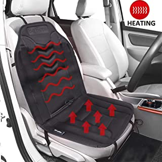 Big Hippo Heated Seat Cushion 12V Car Seat Cushions Cover Pad, Smart Multifunctional Auto Seat Heating Protector Warmer Winter-Universal for Car, Home, Office