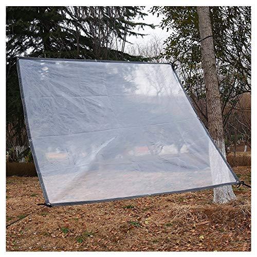 IDWOI transparant zeil lichtgewicht waterdicht tarp tent camping regendicht katoen winddicht helder gordijn