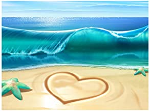 DIY 5D Diamond Painting Kit Sea Beach Full Drill Diamond Painting Embroidery Cross Picture Arts Craft Gift for Adults Chil...