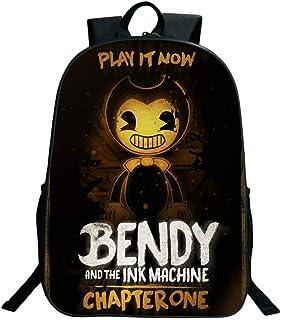 Bendy-Student Backpack - Mochila - Altura 40cm - Ancho 30cm - Grueso 13cm