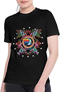 T Shirts for Women Cool Hawkwind T Shirt Black