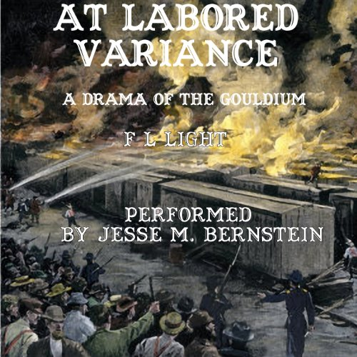 At Labored Variance audiobook cover art