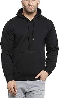Scott International Rich Cotton Hoodie Sweatshirt for Men - Black