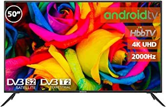 """Television LED 50"""" INFINITON 4K Smart TV-Android TV ("""