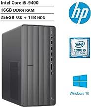 $689 » KKE Upgrades 2020 Envy Desktop Computer, 9th Intel Core i5-9400 2.90GHz, 16GB DDR4 RAM, 256GB PCIe SSD(Boot) + 1TB HDD, 802.11ac + Bluetooth, Media Card Reader, HDMI, VGA, DVD-RW, Win10
