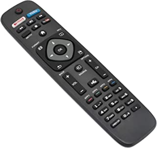 AIDITIYMI NH500UP Replace Remote Control fit for Philips TV HDTV 50PFL5601/F7 65PFL5602/F7 55PFL5602/F7 50PFL5602/F7 43PFL5602/F7 32PFL4902/F7 40PFL4901/F7 43PFL4901/F7 URMT41JHG006 50PFL4901/F7
