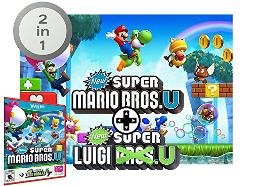 Nintendo Wii U consola Premium Pack 32GB + Mario Kart 8 + Splatoon + Super Mario & Luigi U - Mega Pack 4 Juegos!: Amazon.es: Videojuegos