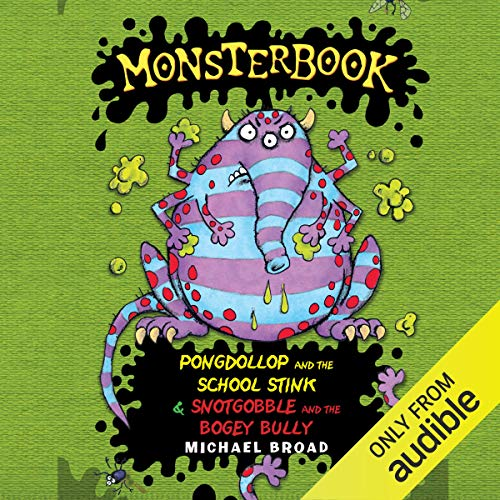 Monsterbook audiobook cover art
