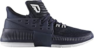 Dame 3 Shoe - Men's Basketball 9 Collegiate Navy/White