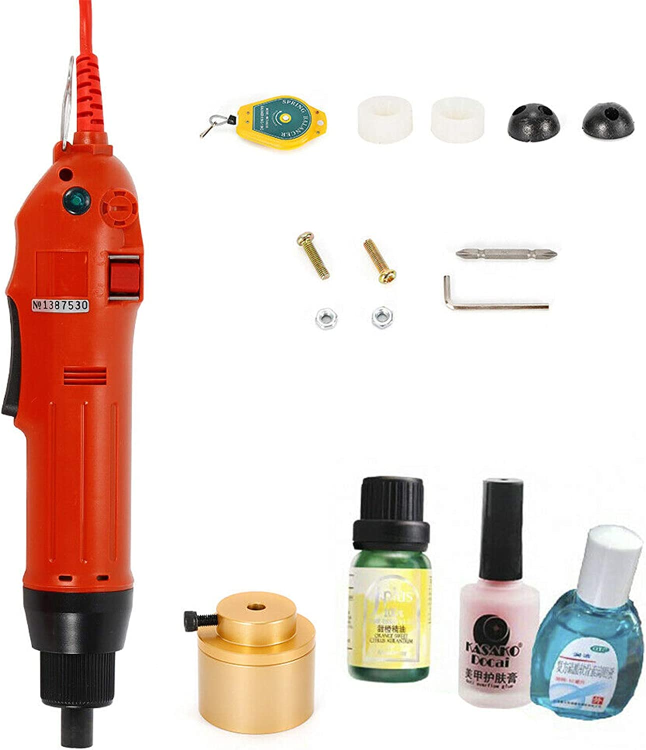 Handheld 70% OFF Outlet Electric Bottle Capping Machine Screw Sealin Manufacturer regenerated product Cap Capper