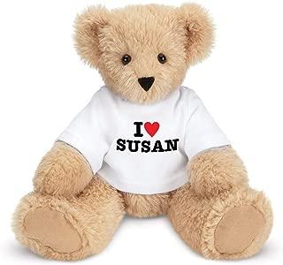Vermont Teddy Bear Teddy Bears Stuffed Animals - I Love You Teddy Bear, Custom, 13 Inch