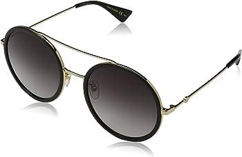 Gucci Round Grey Gradient Sunglasses