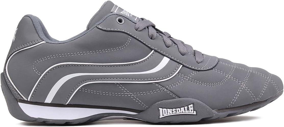 Lonsdale Camden Baskets /à lacets d/écontract/ées Chaussures pour homme
