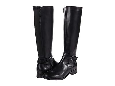 Clarks Hamble High (Black Leather) Women