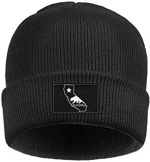 0bd474b3b0e Gaaskelled Knit Cap Unisex Woolen Caps Cali Life California Black Logo  Beanie Skull Hats