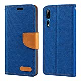 ZTE Axon 10 Pro Case, Oxford Leather Wallet Case with Soft