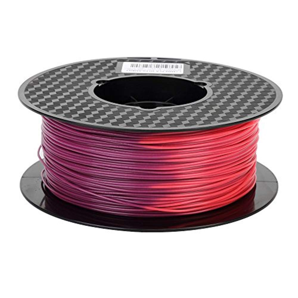 Color Change Selling and selling Purple to Red 3D Printer by Filament mm Over item handling ☆ PLA 1.75 Te