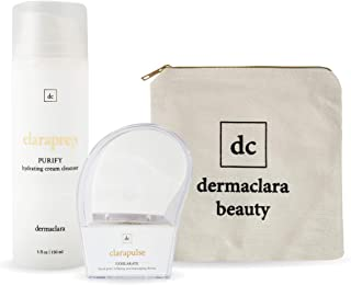 Sponsored Ad - Dermaclara Youth Brightening System - Collagen Boosting Cream Cleanser & Sonic Facial Massager