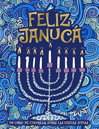 Un libro de colorear sobre las fiestas judías: Feliz Janucá