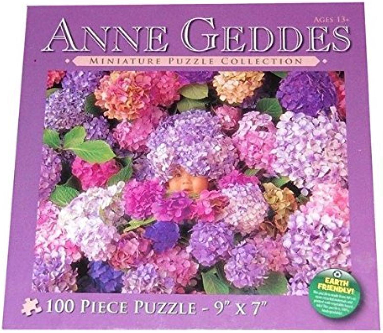Anne Geddes Hydrangeas Baby Wildflower Miniature Puzzle Collection 100 Piece Jigsaw Puzzle 9 X 7 by Anne Geddes