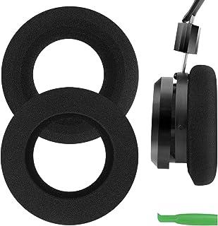 Geekria Comfort Foam Replacement Ear Pads for GRADO SR125, SR225, SR325, SR60, SR80, SR80e, M1, M2 Headphones Earpads, Hea...