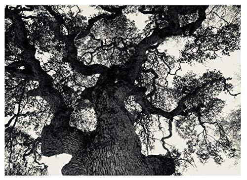 Yqgdss 1500 Pezzi Puzzle Arte DIY Paesaggio Bianco Nero Grande Albero Bambini Adulti Puzzle Personalizzati Anziani Art