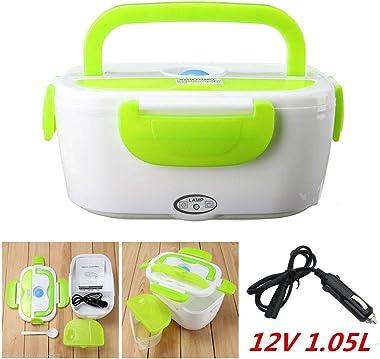12V Portable Electric Heated Car Plug Heating Lunch Box Bento Travel Food Warmer