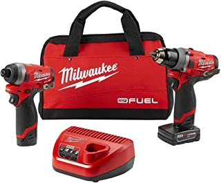 Milwaukee Electric Tools 2596-22 M12 Fuel 2Pc Kit - 1/2