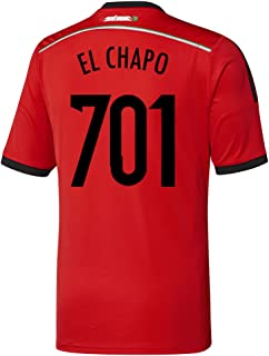 adidas El Chapo #701 Mexico Away Jersey World Cup 2014 Youth.