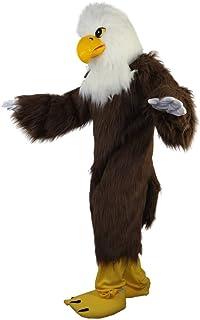Langteng brun örn hårig tecknad maskot kostym äkta bild 15-20 dagar leverans märke