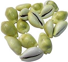 PLANET07 Yellow Kauri, Kawdi, Kaudi, Peeli Kowdi, Cowrie,Kodi Shells for Laxmi Puja, Diwali Puja - Set of 11 pcs