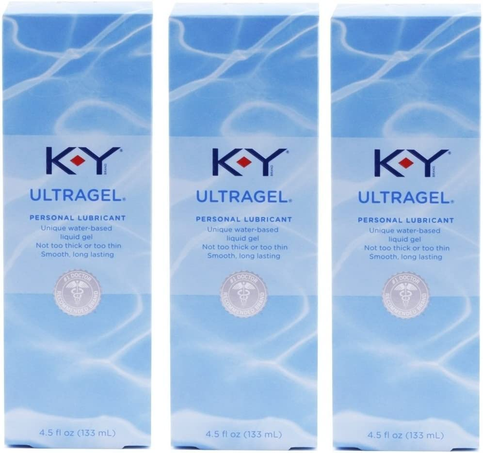 K-Y KY Ultragel Personal NEW Max 47% OFF Lubricant Pack of oz e @ 133 ml 3 4.5