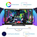 XP-PEN Artist22 Pro Drawing Pen Display 21.5 Inch Graphics Monitor 1920x1080 FHD Digital Drawing Monitor with Adjustable Stand and PN02S Stylus (8192 Pressure Sensitivity)